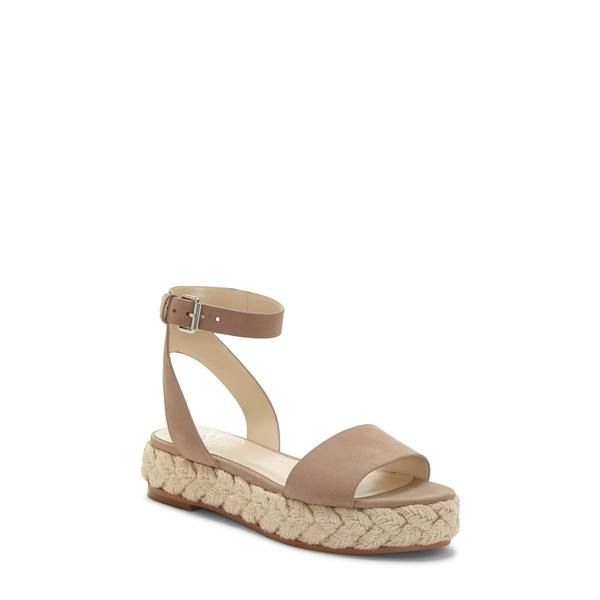 ヴィンスカムート レディース サンダル シューズ Defina Ankle Strap Platform Sandal Dusty Mink Leather