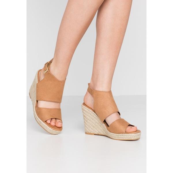 ミスセルフフリッジ レディース OUTLET SALE シューズ サンダル tan 全商品無料サイズ交換 WREN heeled High WEDGE zlzq022d - 価格 交渉 送料無料 sandals HIVAMP
