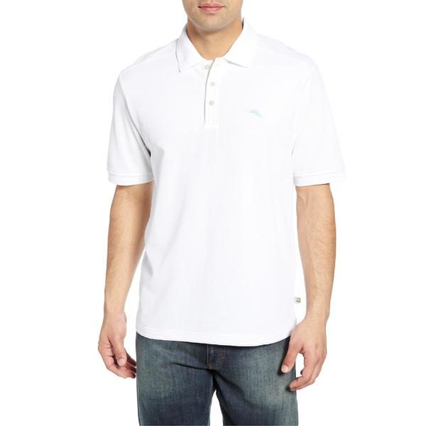 トッミーバハマ メンズ ポロシャツ トップス Tommy Bahama Emfielder 2.0 Polo Bright White