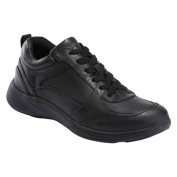 アース レディース スニーカー シューズ Earth Scenic Vapor Sneaker (Women) Black Leather