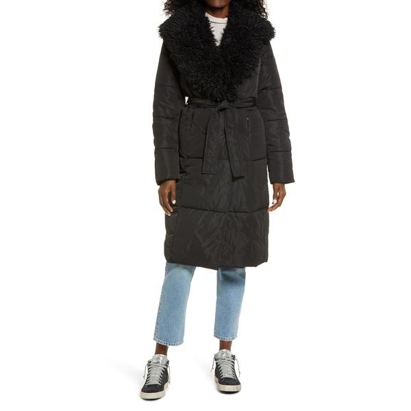 ヴェロモーダ レディース アウター ジャケット ブルゾン BLACK ファクトリーアウトレット Jacket Quilted Long 全商品無料サイズ交換 Cozy お買い得品