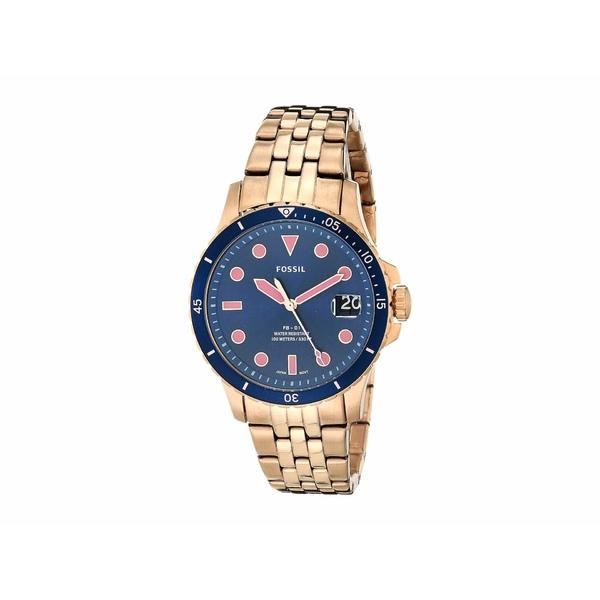 フォッシル レディース 腕時計 アクセサリー FB-01 Three-Hand Date Women's Watch ES4767 Rose Gold Stainless Steel