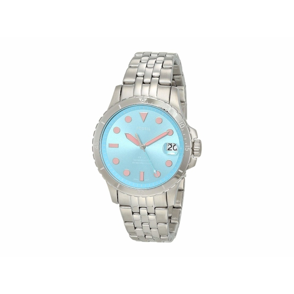 フォッシル レディース 腕時計 アクセサリー FB-01 Three-Hand Date Women's Watch ES4742 Silver Stainless Steel