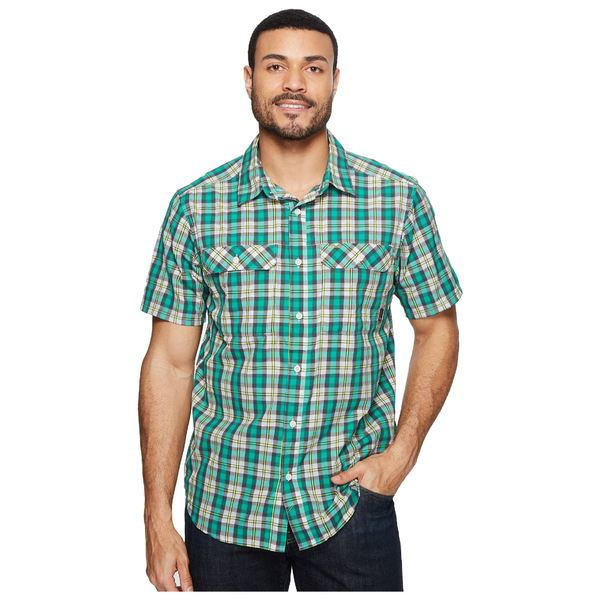 マウンテンハードウェア メンズ シャツ トップス Canyon AC Short Sleeve Shirt Plastic Fern