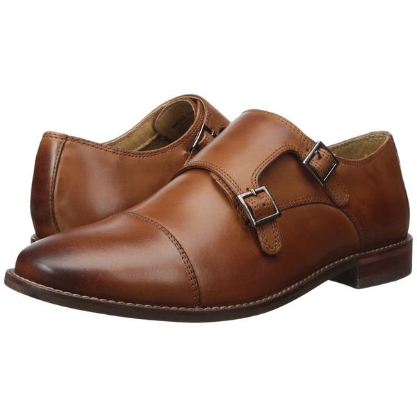 フローシャイム メンズ ドレスシューズ シューズ Montinaro Double Monk Strap Saddle Tan Smooth