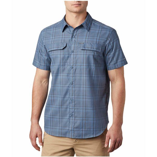 コロンビア メンズ シャツ トップス Silver Ridge 2.0 Multi Plaid Short Sleeve Shirt Mountain Grid Plaid