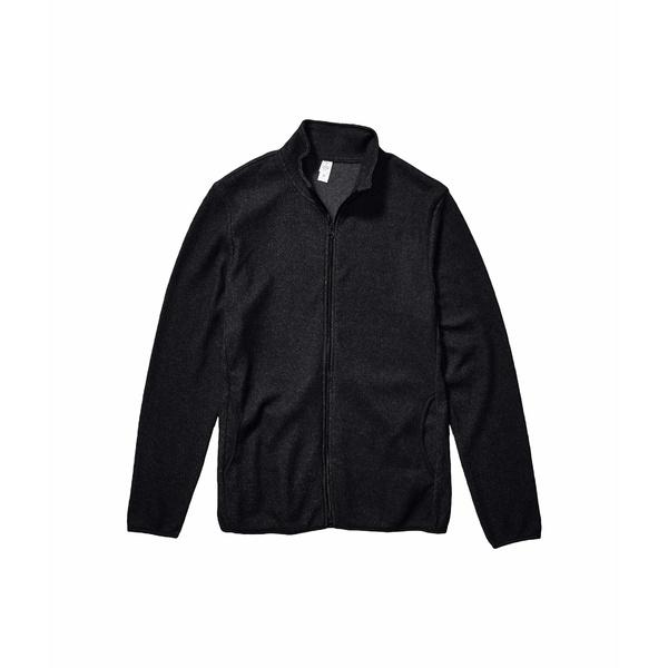 オルタナティヴ メンズ コート アウター Eco-Teddy Full Zip Jacket Eco Black