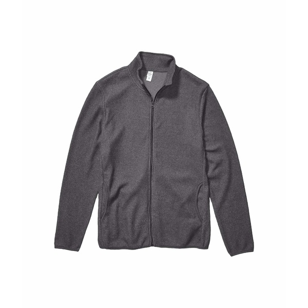 オルタナティヴ メンズ コート アウター Eco-Teddy Full Zip Jacket Eco Grey