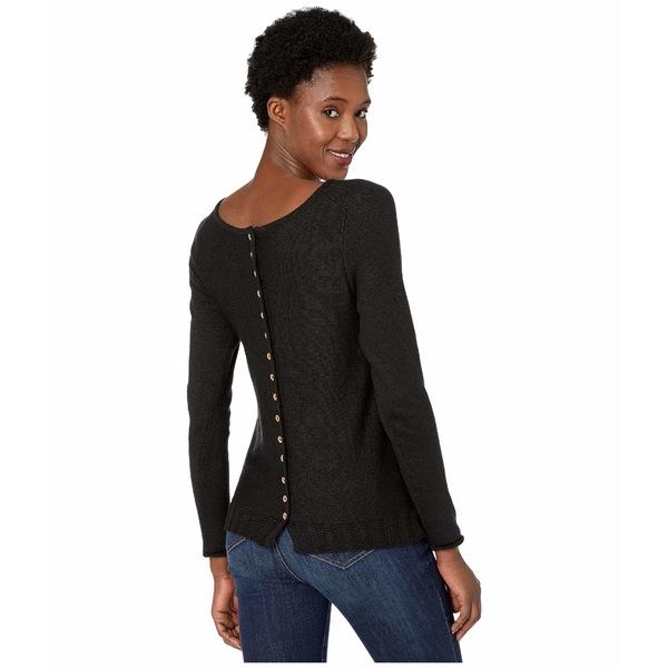 ニックプラスゾーイ レディース ニット&セーター アウター Back Country Sweater Black Onyx