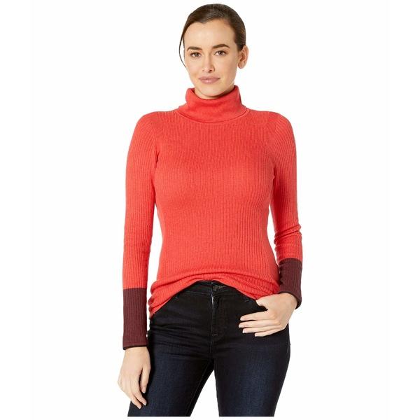 ニックプラスゾーイ レディース ニット&セーター アウター Balance Turtleneck Pop Red
