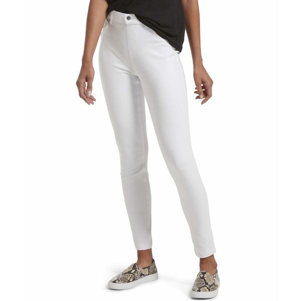 ヒュー レディース デニムパンツ ボトムス High-Waist Ultra Soft Denim Leggings White