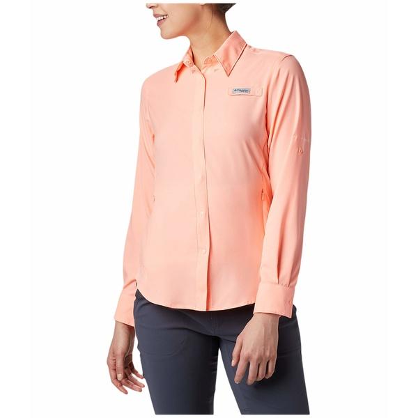 コロンビア レディース シャツ トップス Tamiami II L/S Shirt Tiki Pink