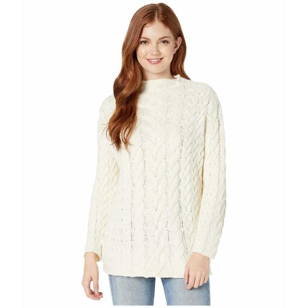 ロストアンドウォーター レディース ニット&セーター アウター Cotton Wood Sweater Ivory