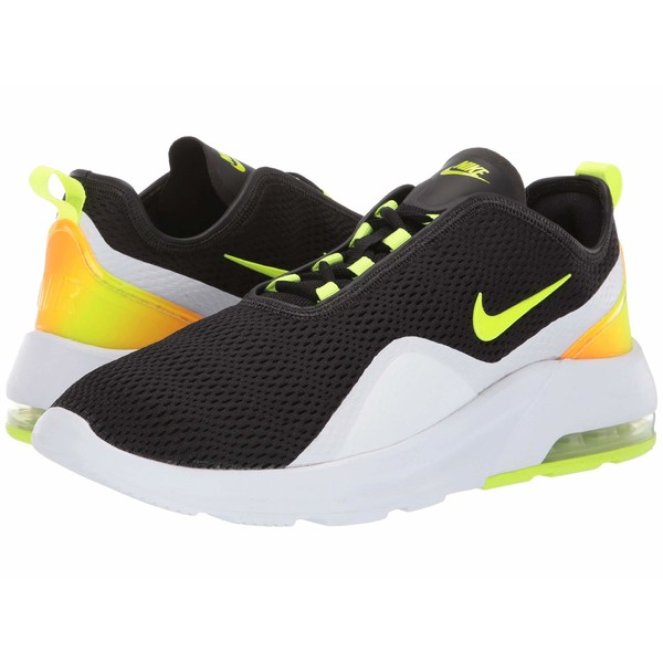 ナイキ メンズ スニーカー シューズ Air Max Motion 2 Black/Volt/White/Total Orange