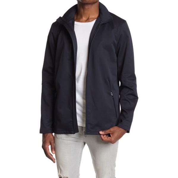 セブンダイヤモンド メンズ ジャケット&ブルゾン アウター Sable Zip Front Hooded Jacket NAVY