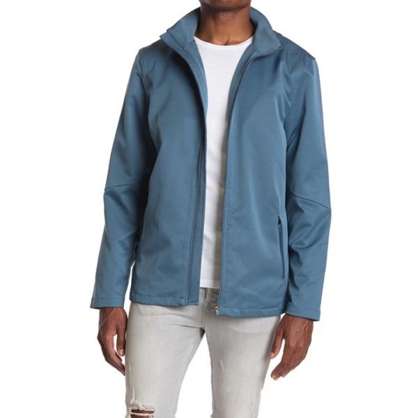 セブンダイヤモンド メンズ ジャケット&ブルゾン アウター Sable Zip Front Hooded Jacket SLATE