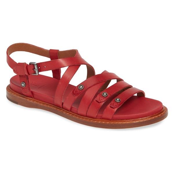 フライ レディース サンダル シューズ Frye Andora Strappy Sandal (Women) Red