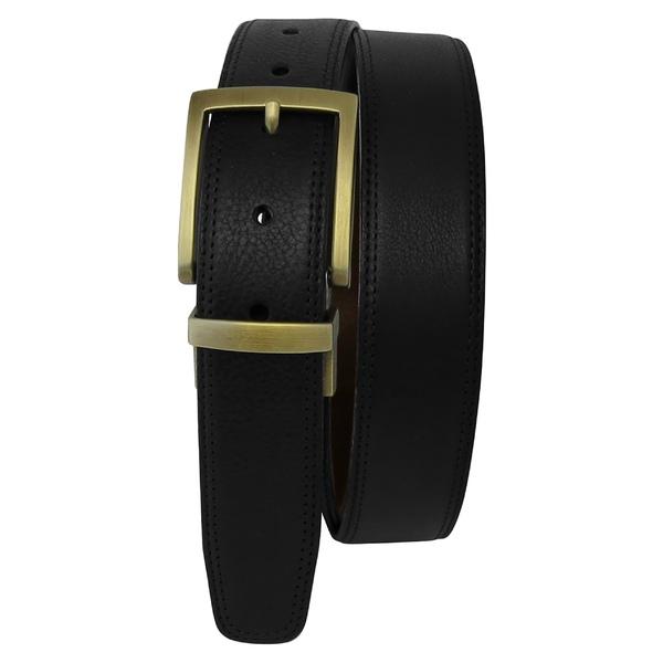 ボコニ メンズ ベルト アクセサリー Boconi Reversible Leather Belt Black/ Brown