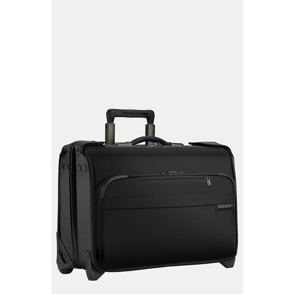 ブリグスアンドライリー メンズ ビジネス系 バッグ Briggs & Riley 'Baseline' Rolling Carry-On Garment Bag Black