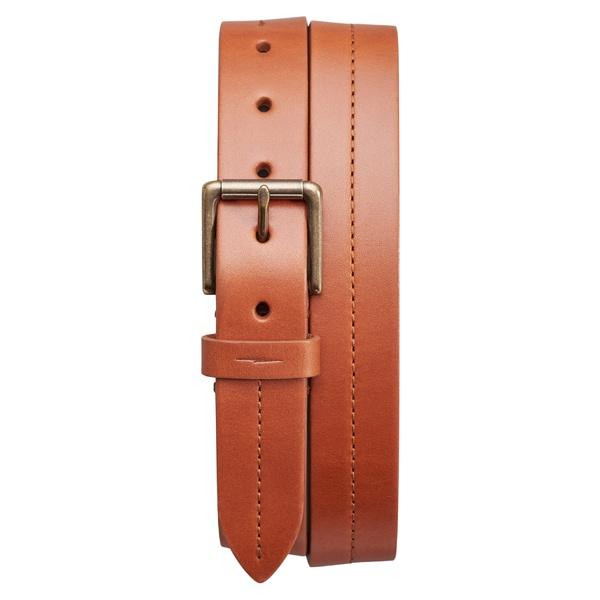 シャイノーラ メンズ ベルト アクセサリー Shinola Leather Belt Bourbon
