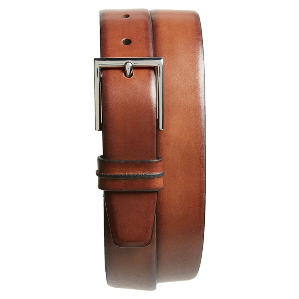 コールハーン メンズ ベルト アクセサリー Cole Haan Leather Belt British Tan