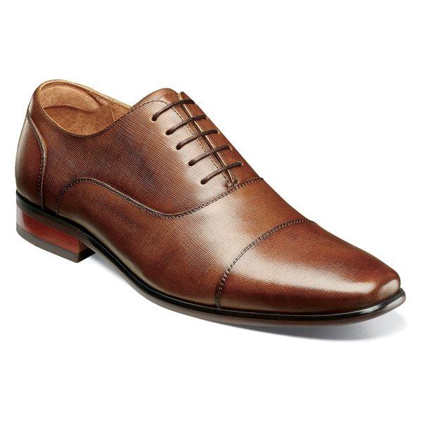 フローシャイム メンズ ドレスシューズ シューズ Florsheim Postino Cap Toe Oxford (Men) Cognac