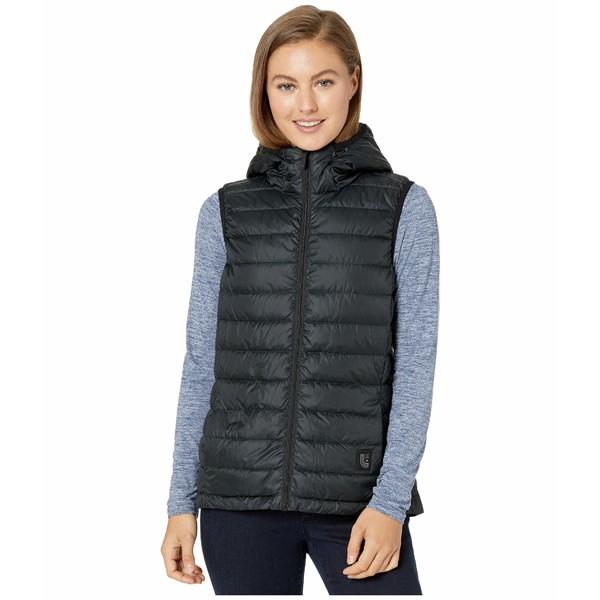 ロル レディース コート アウター Rose Packable Vest Black