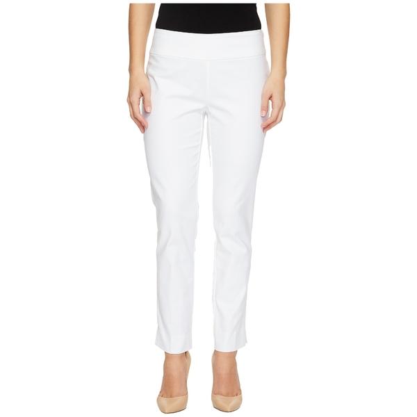 ニックプラスゾーイ レディース カジュアルパンツ ボトムス Petite Perfect Pants Modern Slim Ankle Paper White