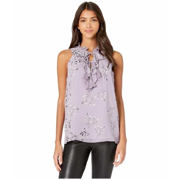 ケンジー レディース シャツ トップス Violet Blooms Sleeveless Top KS7K4842 Smokey Violet Combo