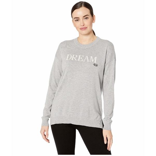 ラルフローレン レディース ニット&セーター アウター Dream Cotton-Blend Sweater Pearl Grey Heather/Mascarpone Cream