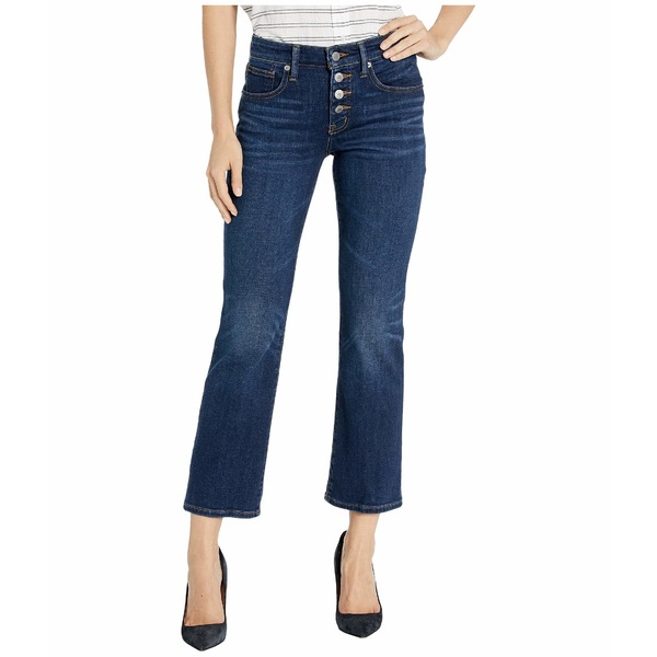 ラッキーブランド レディース デニムパンツ ボトムス Mid-Rise Ava Crop Mini Bootcut Jeans in Abbott Abbott