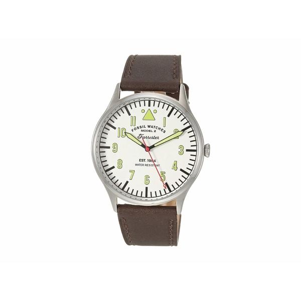 フォッシル メンズ 腕時計 アクセサリー 42 mm Forrester FS5610 Brown