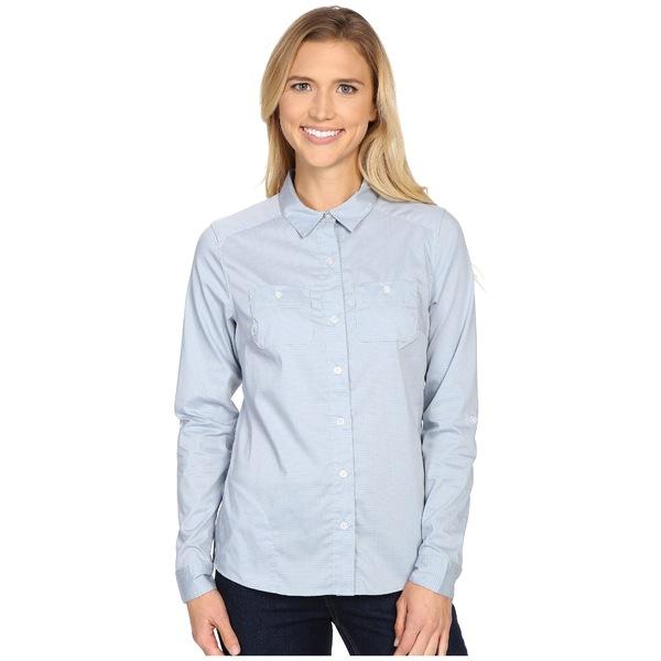 ドード アンドコー レディース シャツ トップス Panoramic Long Sleeve Shirt Weathered Blue Stripe