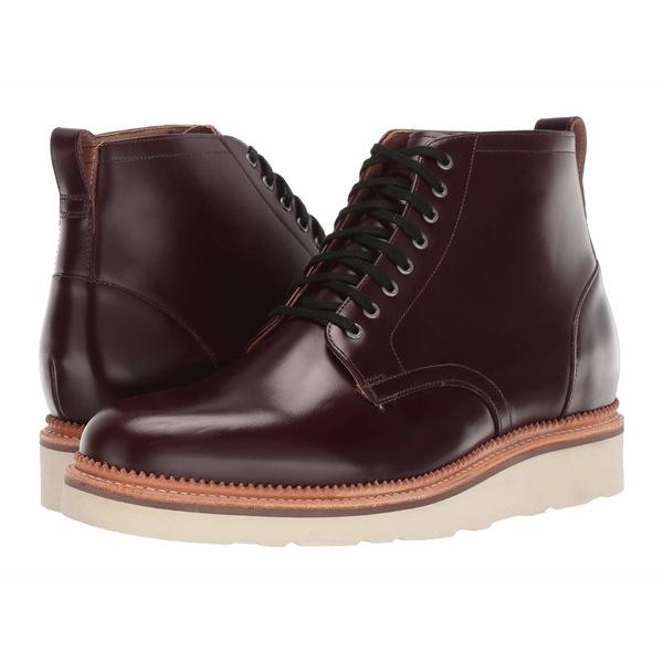 ボストニアン メンズ ブーツ&レインブーツ シューズ Berkshire Top Burgundy Leather