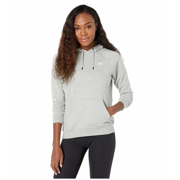ナイキ レディース パーカー・スウェットシャツ アウター NSW Essential Hoodie Pullover Fleece Dark Grey Heather/White
