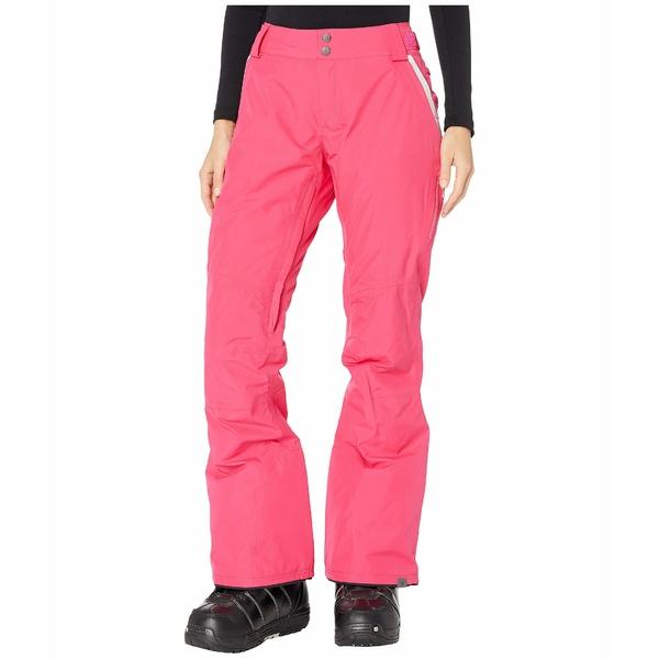 ロキシー レディース カジュアルパンツ ボトムス GORE-TEX 2L Rushmore Snow Pants Beetroot Pink