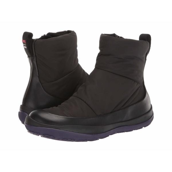 カンペール レディース ブーツ&レインブーツ シューズ Peu Pista Short Black 2
