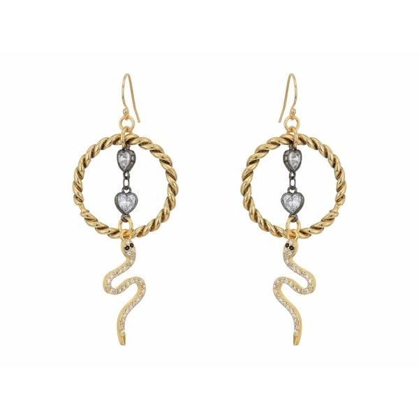 バネッサモーネイ レディース ピアス&イヤリング アクセサリー The Medusa Earrings Gold