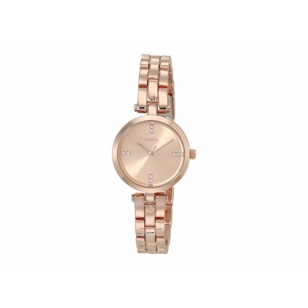 フォッシル レディース 腕時計 アクセサリー 26 mm Caila BQ7024 Rose Gold