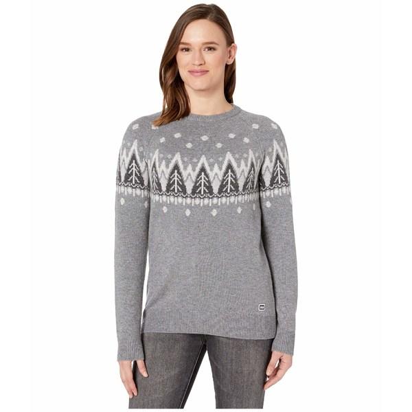 ヘリーハンセン レディース ニット&セーター アウター Wool Knit Sweater Quiet Shade