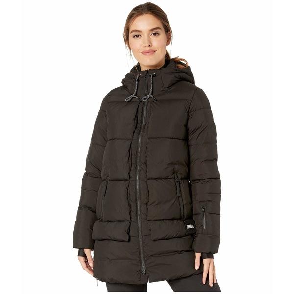 オニール レディース コート アウター Azurite Jacket Black Out