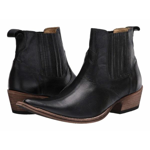 マッシモマッテエロ メンズ ブーツ&レインブーツ シューズ El Padrino Pointy Toe Boot Black Leather