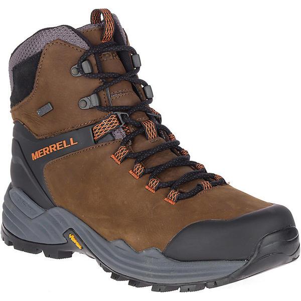 メレル メンズ ハイキング スポーツ Merrell Men's Phaserbound 2 Tall Waterproof Boot Dark Earth