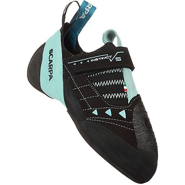 スカルパ レディース サイクリング スポーツ Scarpa Women's Instinct VS Climbing Shoe Black/Aqua