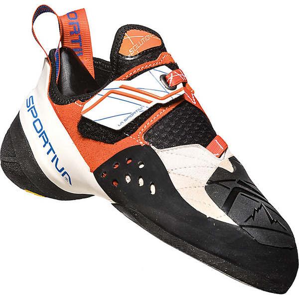 ラスポルティバ レディース サイクリング スポーツ La Sportiva Women's Solution Climbing Shoe White / Lily Orange