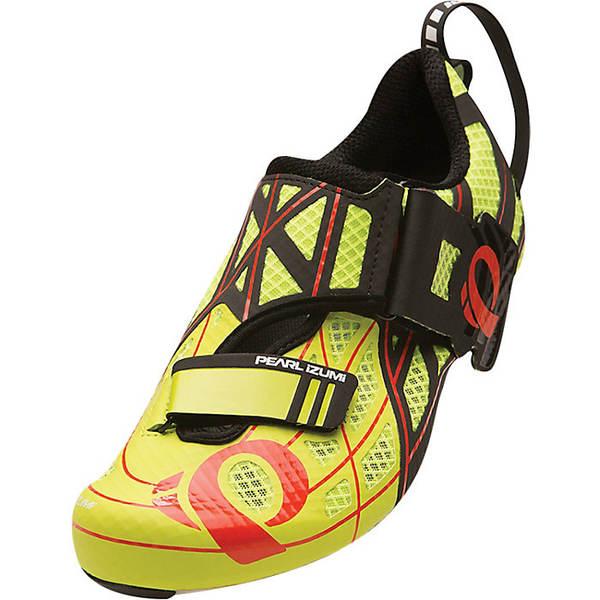 パールイズミ レディース サイクリング スポーツ Pearl Izumi Tri Fly P.R.O. v3 Shoe Lime Punch/Black
