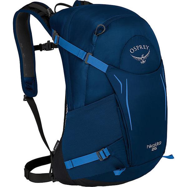 オスプレー メンズ バックパック・リュックサック バッグ Osprey Hikelite 26 Pack Blue Bacca