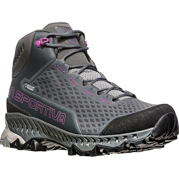 ラスポルティバ レディース ハイキング スポーツ La Sportiva Women's Stream GTX Boot Carbon / Purple