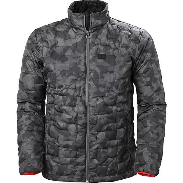 ヘリーハンセン メンズ ジャケット&ブルゾン アウター Helly Hansen Men's Lifaloft Insulator Jacket Charcoal Camo