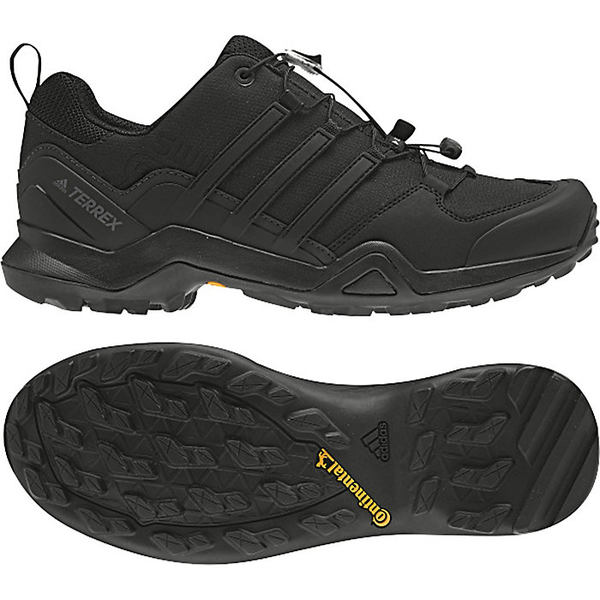 アディダス メンズ ハイキング スポーツ Adidas Men's Terrex Swift R2 Shoe Black / Black / Black
